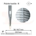 Aiguilles 134(R), DPx5 -TEXTILE-