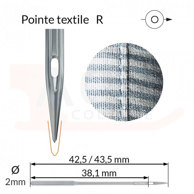 Aiguilles 134-35(R), DPx35 -TEXTILE-