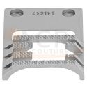 Griffe Zig Zag 10mm à dents moletées SINGER 20U