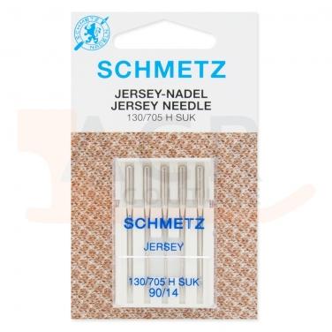 5 Aiguilles JERSEY Schmetz (blister)