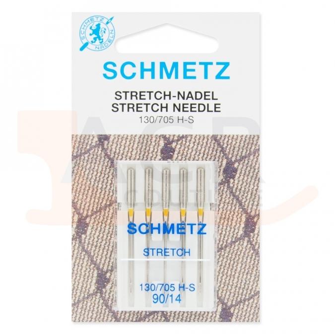 5 Aiguilles STRETCH Schmetz (blister)