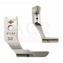 Pieds Passepoil 3mm pour PFAFF Tiple Entrainement